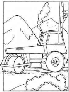 coloring page Roller (4)