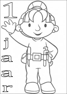 coloring page Wendy 1 year