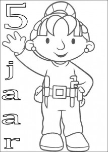 coloring page Wendy 5 year