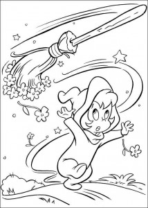 coloring page Wendy