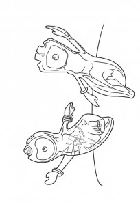 coloring page wenlock mandeville