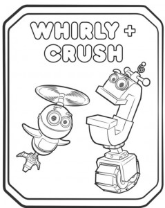 coloring page whirly crush 2