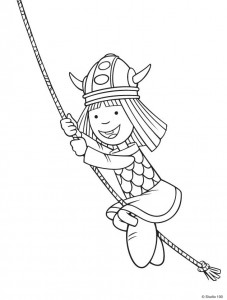 coloring page Wicky the Viking (10)