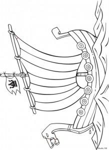 kleurplaat Wicky de Viking (11)