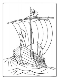 målarbok Wicky the Viking (20)