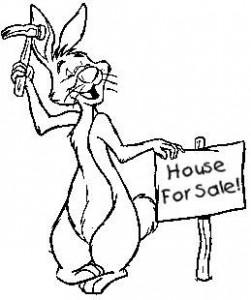 målarbok Winnie the Pooh - Rabbit (13)