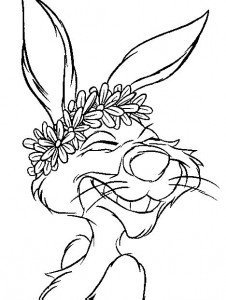coloring page Winnie the Pooh - Rabbit (7)