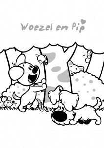 coloring page Woezel and Pip (13)