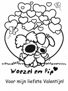 coloring page Woezel and Pip (8)