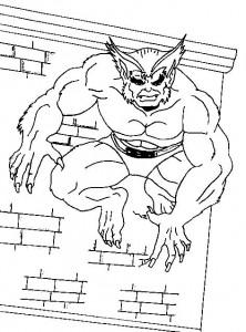 målarbok Wolverine (1)