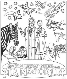 coloring page Wonderwinkel fra Mr. Magorium