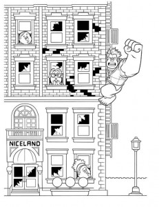 coloring page Wreck-it Ralph 10