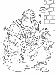 coloring page Wreck-it Ralph 2