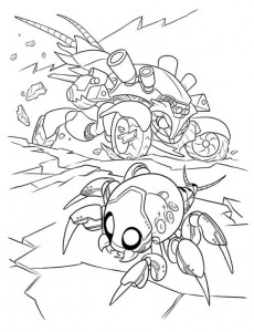 coloring page Wreck-it Ralph 4