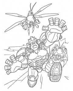 coloring page Wreck-it Ralph 9