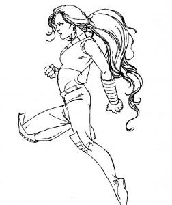 Dibujo para colorear X-men (11)
