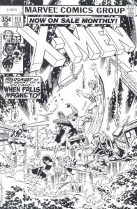 Dibujo para colorear X-men (16)