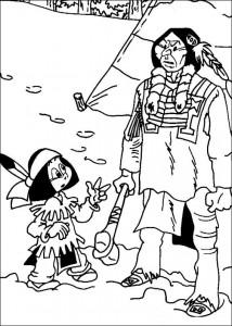 pagina da colorare Yakari (1)