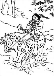 målarbok Yakari (3)