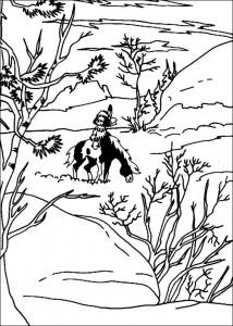 målarbok Yakari (4)