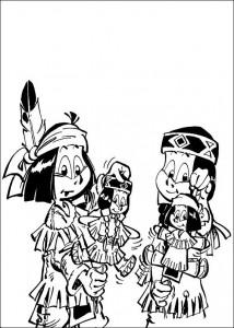pagina da colorare Yakari (6)