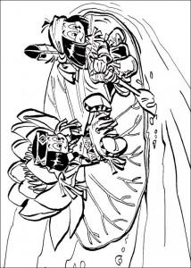 pagina da colorare Yakari (7)