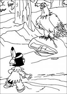 målarbok Yakari