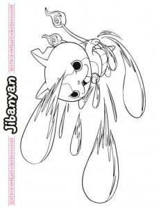 coloring page Yo kai (12)