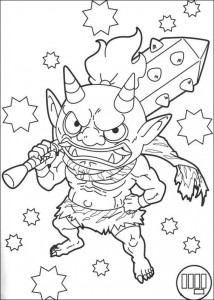 coloriage montre yokai 2