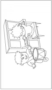 Zappflat coloring page