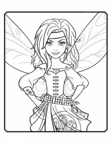 coloring page Zarina
