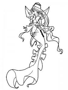 kleurplaat Zeemeermin (28)
