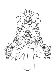 coloring page zenyetta