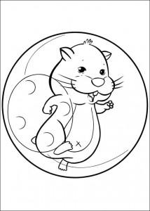 раскраска Zhu Zhu Pets (11)