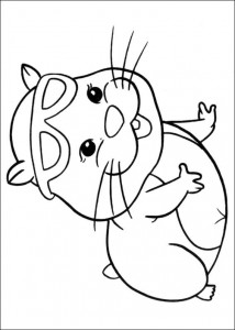 раскраска Zhu Zhu Pets (14)