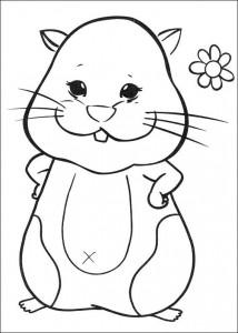 kleurplaat Zhu Zhu Pets (16)