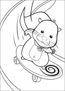 раскраска Zhu Zhu Pets (29)
