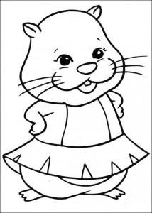 Disegno da colorare Zhu Zhu Pets (37)