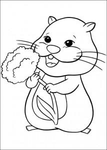 Disegno da colorare Zhu Zhu Pets (5)