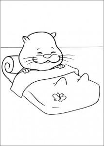 målarbok Zhu Zhu Pets (6)