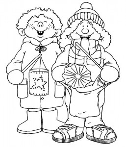 singing-saint-march coloring page