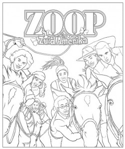 målarbok Zoop i Sydamerika