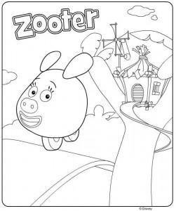 målarbok zooter