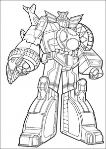 coloring page Zord (1)